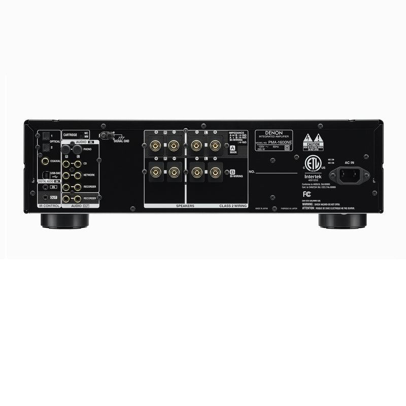 Denon PMA-1600NE Integrated Amp with DAC mode for high resolution audio