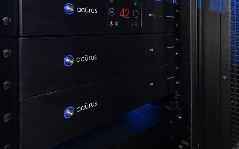 Acurus M8 8-channel amplifier