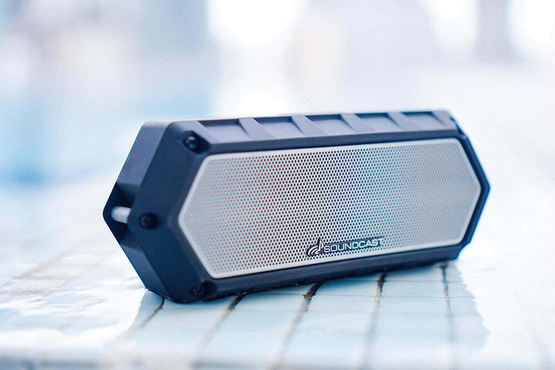 Soundcast VG1 Waterproof Portable Bluetooth Speaker angle