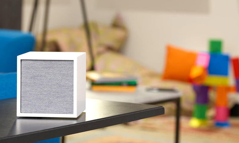 Tivoli Cube Wireless Speaker on play room