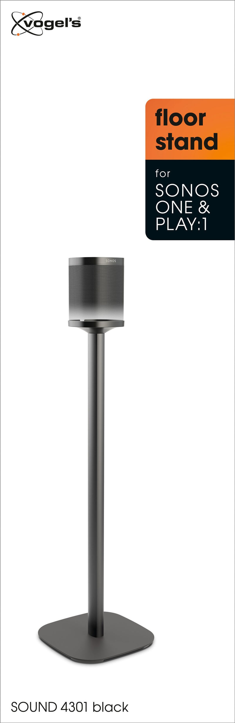 Vogel's SOUND 4301 Speaker stand for SONOS ONE (SL) & PLAY:1