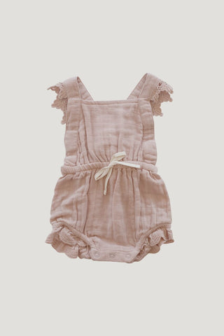 Jamie Kay Lace Indie Playsuit Rose Smoke