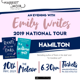 An Evening with Emily Writes - HAMILTON