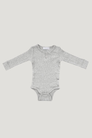 Jamie Kay Bodysuit - Light Grey Marle