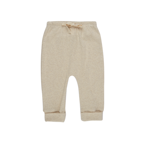 Nature Baby Merino Drawstring Pants Oatmeal