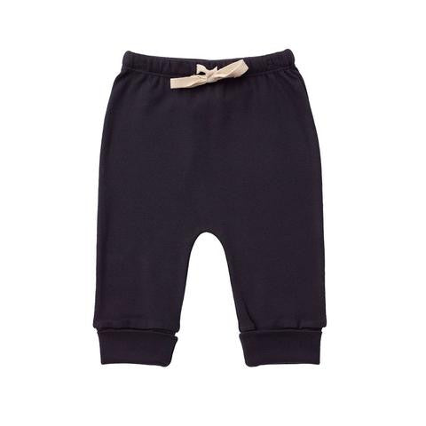Nature Baby Cotton Drawstring Pants Navy