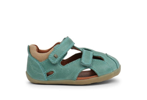 Bobux Step Up Chase Sandal Teal