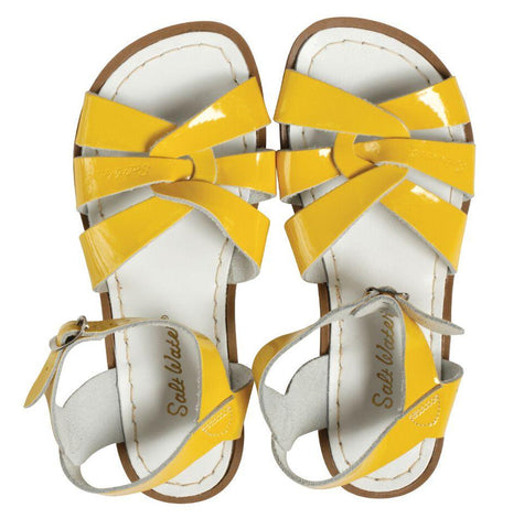 Saltwater Sandals Original - Shiny Yellow