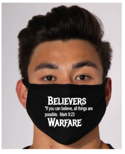 Believer's Warfare Mask