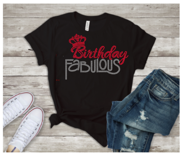 Birthday Fabulous Tee