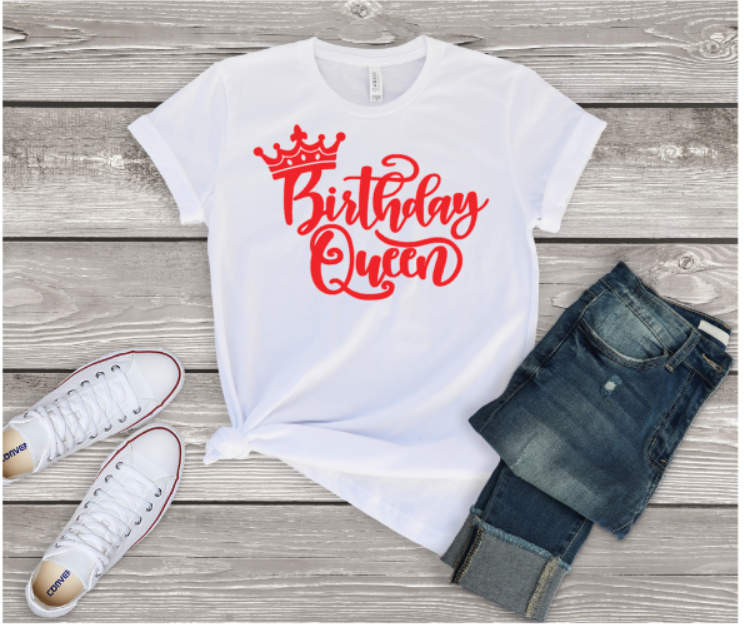 Birthday Queen Tee