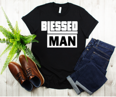 Blessed Man Men's Tee