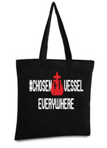 CV Everywhere Logo Tote (Red and White)