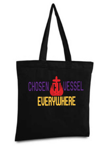CV Everywhere Logo Tote