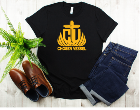 CV Logo (Gold) Men's Tee