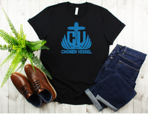CV Logo (Royal Blue) Men's Tee
