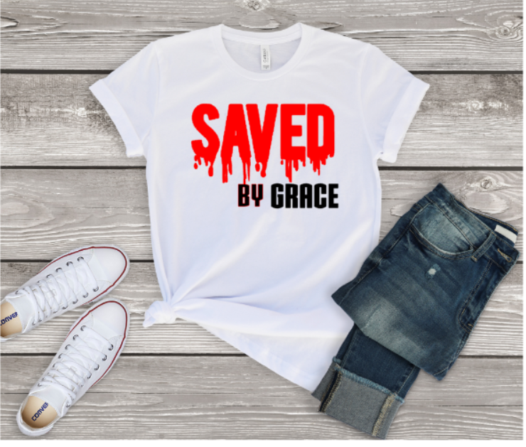 Saved By Grace Tee