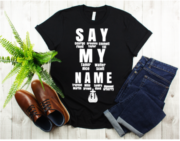 Say My Name Men's Tee