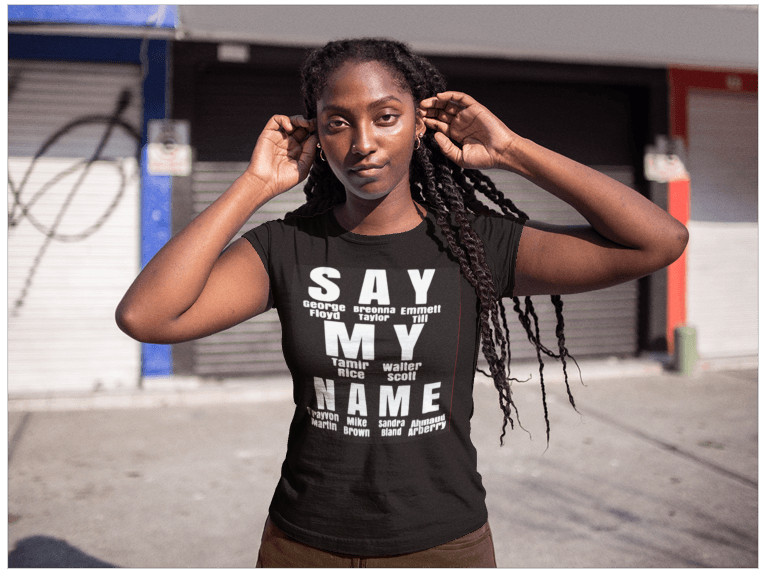 Say My Name Ladies Tee