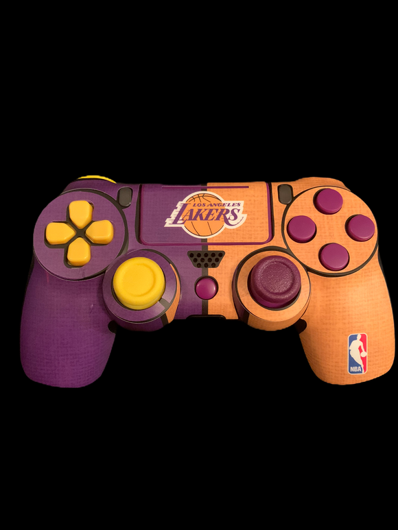 (New) PS4 Basketball Themed Controller