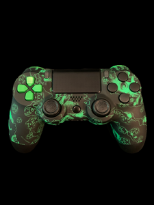 (New) Custom PS4 Controller with a Biohazard Theme