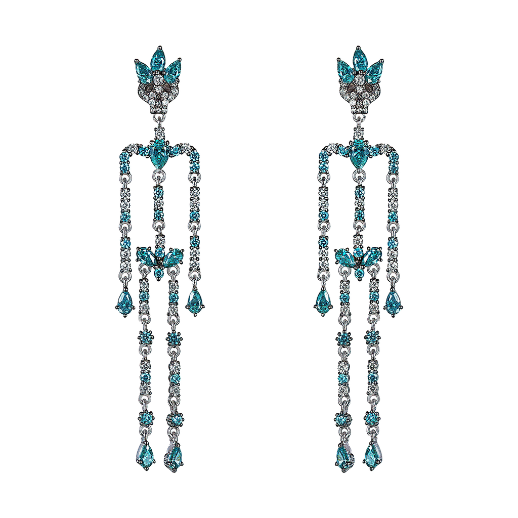 Dancing Skeleton Earrings