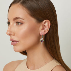 Scarab Babies Earrings