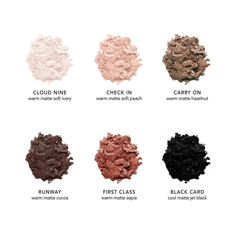 Essential Jet-Set Matte Eyeshadow Palette