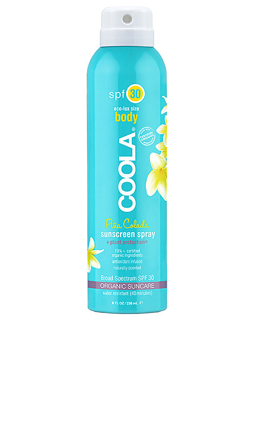 Coola Sunscreen Spray SPF 30 and 50