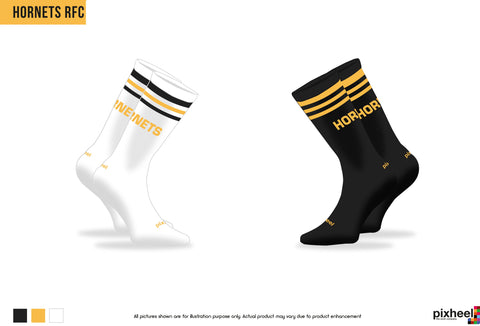Hornets RFC Mid Cut Socks