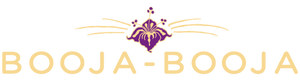 The logo of vegan chocolate and ice-cream producer Booja-Booja, based in Norfolk UK.