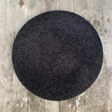 Charcoal colour wool beret