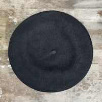 Small Eyelet Beret - Cool Hues