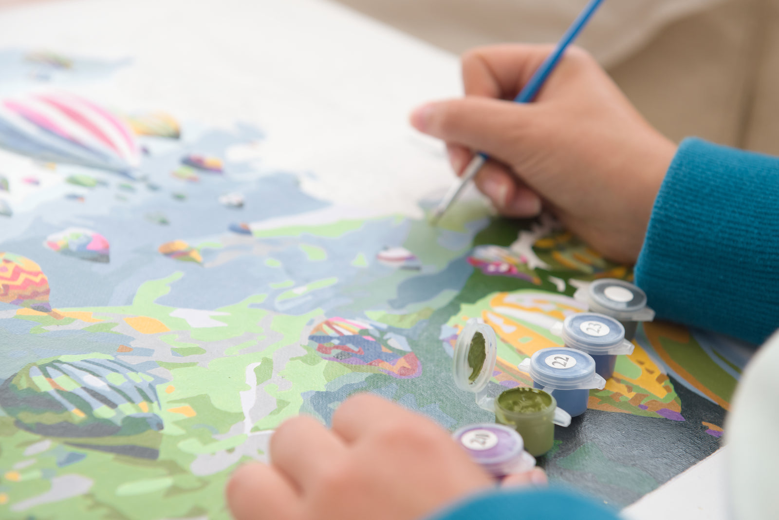 Create a Masterpiece with Personalized Paint by Number DIY Art Kits: Perfect For Beginners!