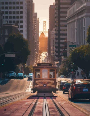 San Francisco - Paint by Numbers HD