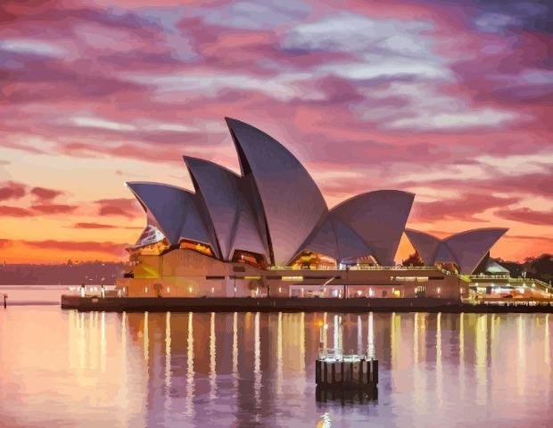 Sydney - Paint by Numbers HD