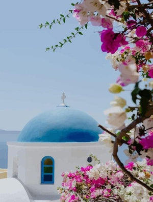 Santorini - Paint by Numbers HD