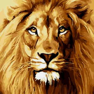 Lion - Paint by Numbers Classic