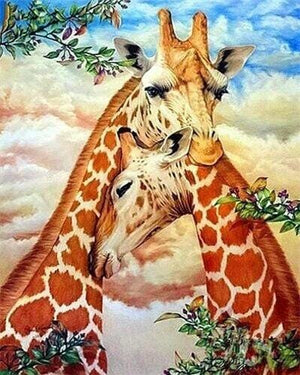 Giraffes - Paint by Numbers Classic