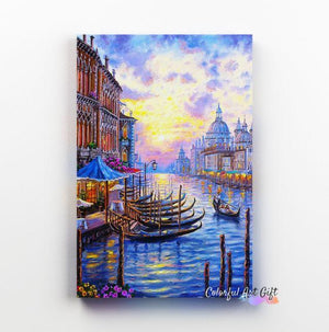 Colorful Venice - Paint by Numbers Classic