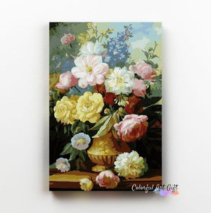 Daisies Bouquet - Paint by Numbers Classic