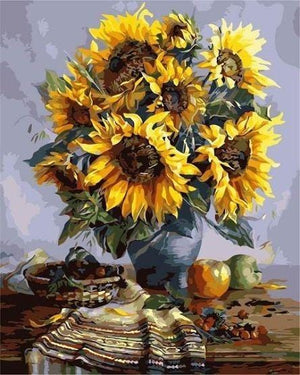 Sunflowers - Paint by Numbers Classic