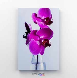 Purple Orchid - Paint by Numbers HD