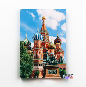 Moscow - Paint by Numbers HD