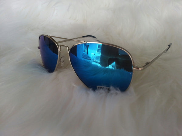 Aviator Blue Mirror