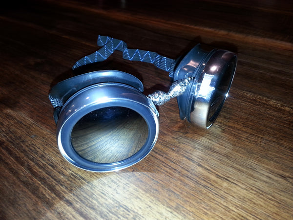 Bead Goggles with Smoked Lens