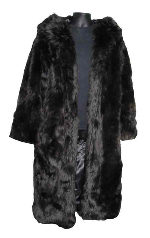 Fur-Black Pimp Coat