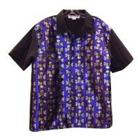 Skull-Purple Contrast Shirt