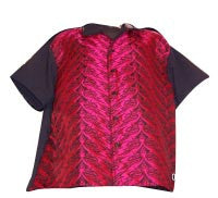 Tribal-Red Contrast Shirt