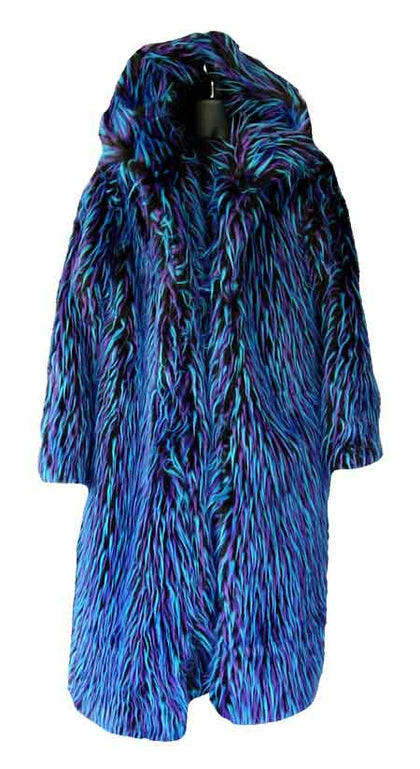 Dred, Blue Black Purple Pimp Coat